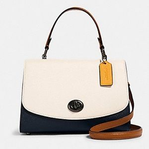 NEW💃COACH TILLY TOP HANDLE CROSSBODY COLORBLOCK